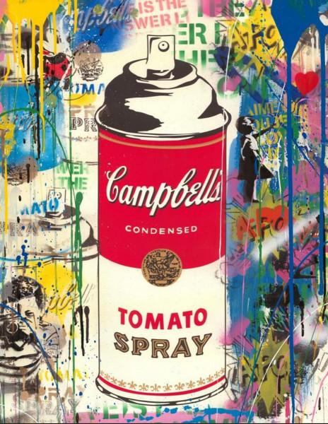 Mr. Brainwash, Tomato Spray, 2019