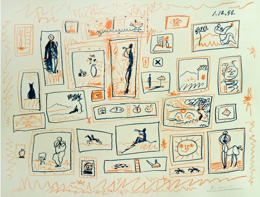 Pablo Picasso, The Collection of Small Pictures, 1965