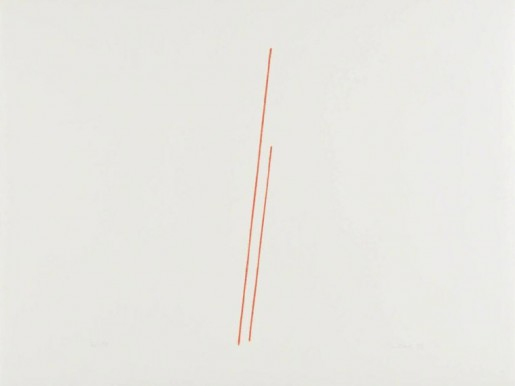 Fred Sandback, Untitled (Jahn #19), 1975