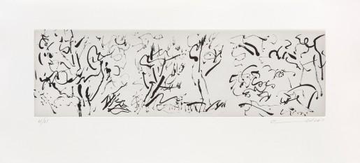 Etel Adnan, La Forêt I, 2015