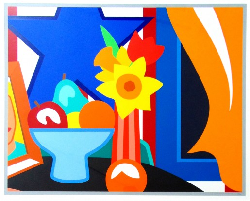Tom Wesselmann, The Blowing Curtain (Yellow), 1999