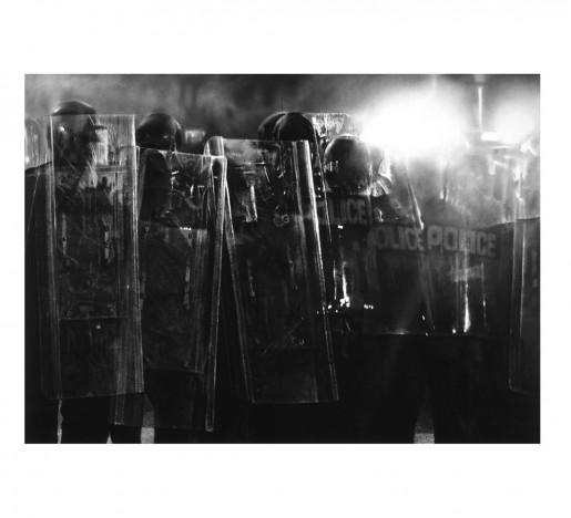 Robert Longo, Riot Cops, 2017
