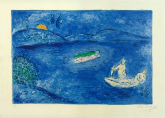 "Echo, from the Series ""Daphnis and Chloe"" (LEcho) by Marc Chagall"