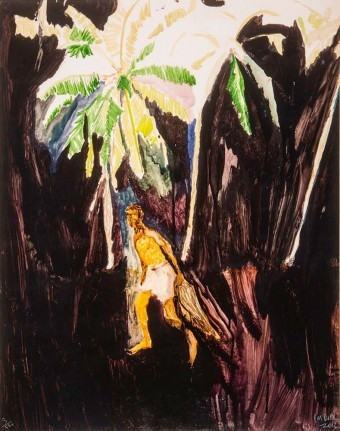 Stranger (Fisher) by Peter Doig