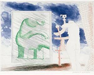 A Picture of Ourselves by David Hockney