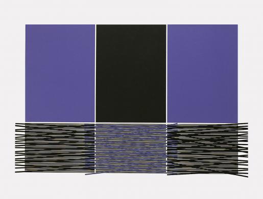 "Jesús Rafael Soto, Untitled from the Portfolio ""Columbus"", 1992"
