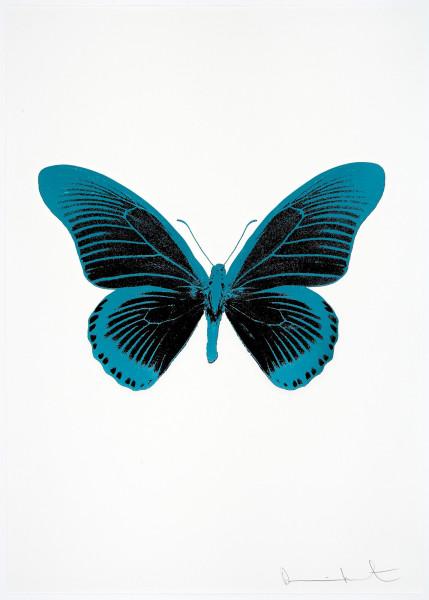 Damien Hirst, The Souls IV - Raven Black/Topaz/Topaz, 2010