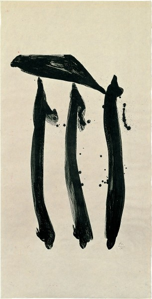 Robert Motherwell, El General, State I, 1980