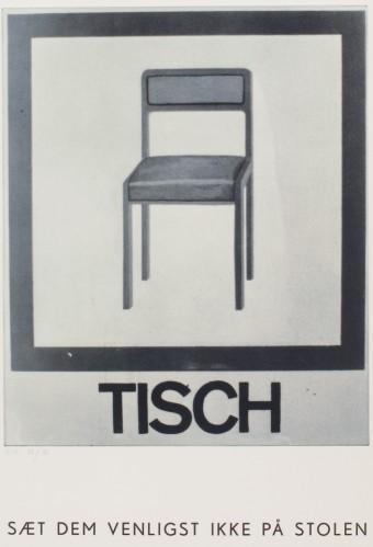 Tisch by Martin Kippenberger