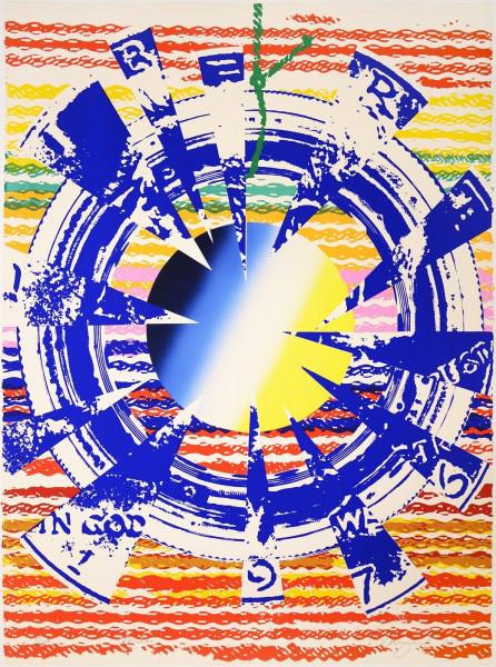 "James Rosenquist, Miles, from the Portfolio ""America: The Third Century"", 1975"