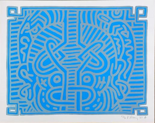 Keith Haring, Chocolate Buddha 1, 1989