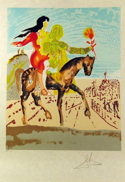 The Messiah from the New Jerusalem Suite by Salvador Dalí