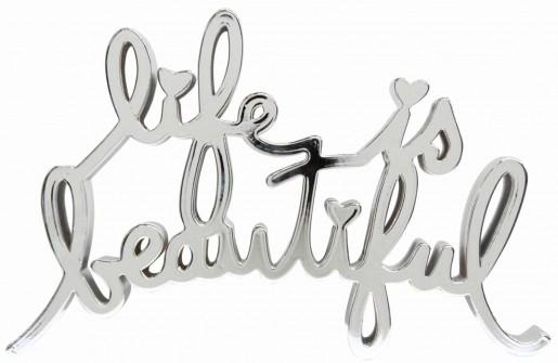 Mr. Brainwash, Life is Beautiful – Hard Candy Chrome, 2017
