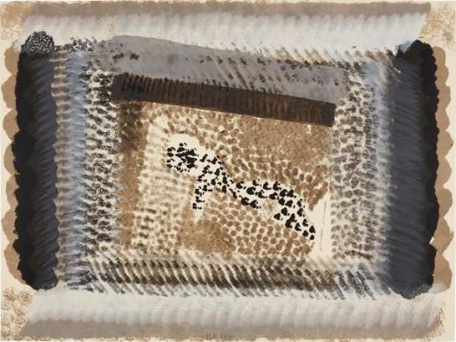 Howard Hodgkin, One down, 1982