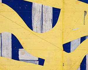 Three String Etching Giallo by Caio Fonseca