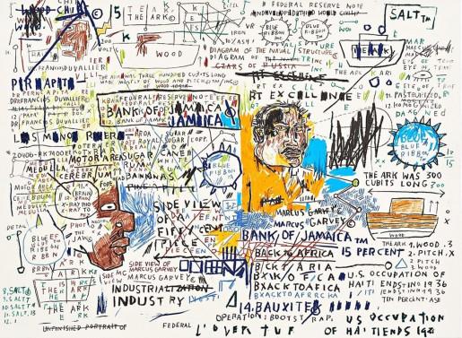 Jean-Michel Basquiat, 50 Cent Piece, 1982-83/2019