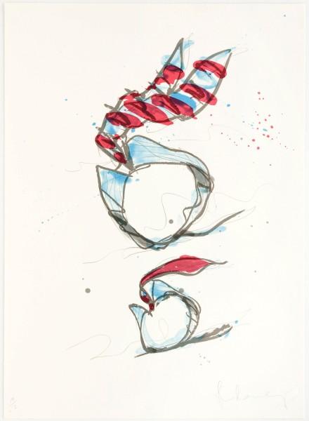 Claes Oldenburg, Rolling Collar and Tie, 1995