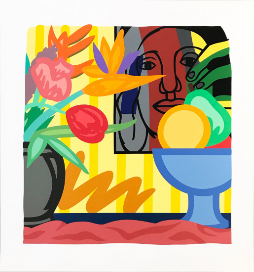 Tom Wesselmann, Mixed Bouquet with Leger, 1993
