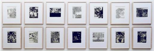 Carroll Dunham, The Nude, 2011