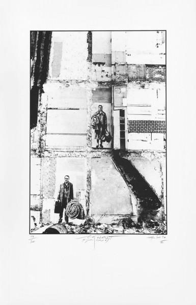 Ernest Pignon-Ernest, Les Expulsés 1, 1977-2002