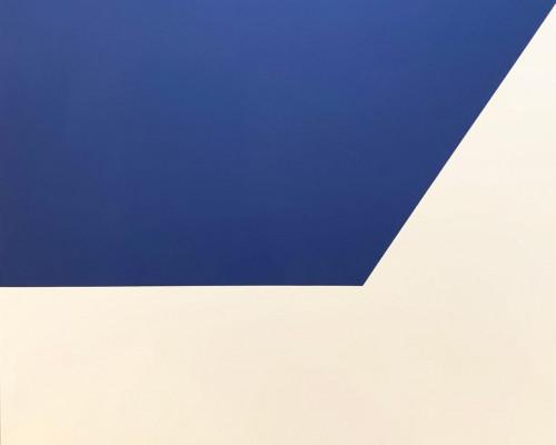 Mallarmé Suite: Blue by Ellsworth Kelly