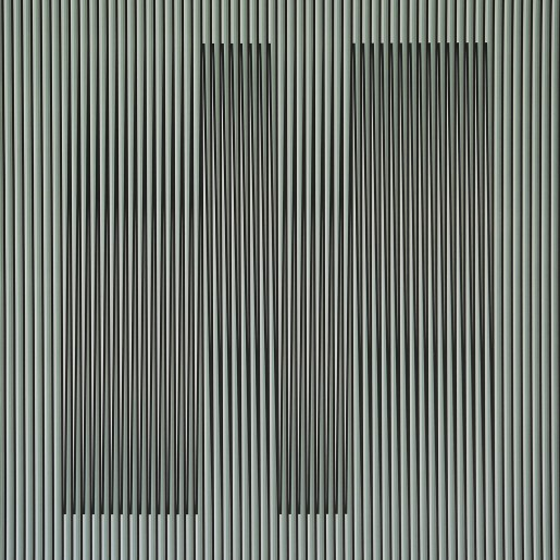 Carlos Cruz-Diez, Couleur Additive Gris Uno, 2017