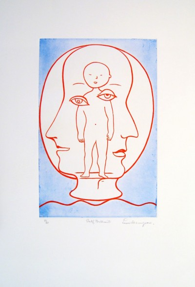 Louise Bourgeois - Self Portrait