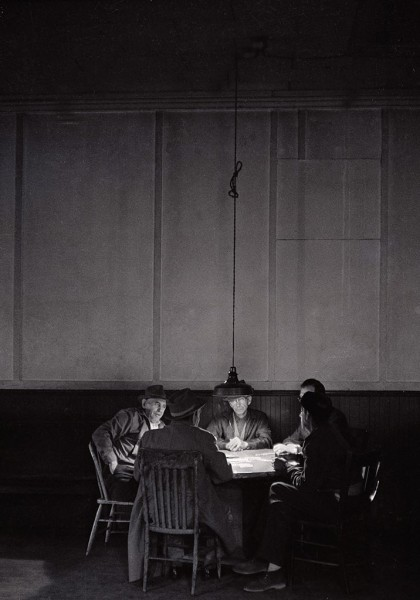 Thomas Hoepker, Poker Players in Rural Texas, USA, 1963