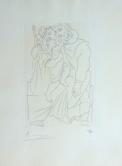 Couple and Child, from: Lysistrata | Couple et Enfant, from: Lysistrata