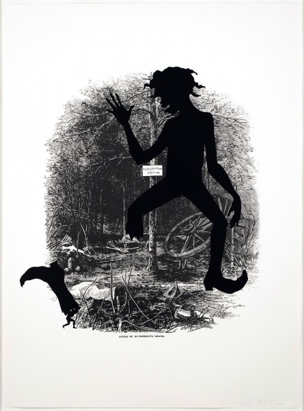 Kara Walker, Scene of McPherson's death, 2005