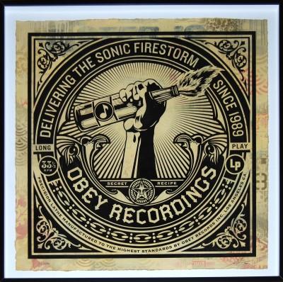 Shepard Fairey-Sonic Firestorm