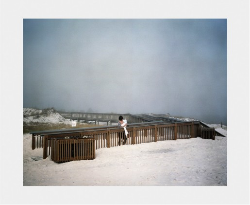 Tobias Kruse, Crossing #5 (Beach), USA, from Crossing, 2009