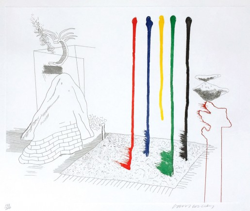 David Hockney, I Say They Are, 1976-77