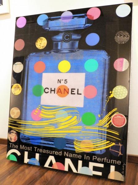 Nelson De La Nuez, Chanel N° 5 black, 2014