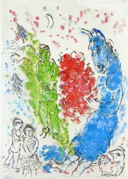 Marc Chagall, Metamorphosis, 1965