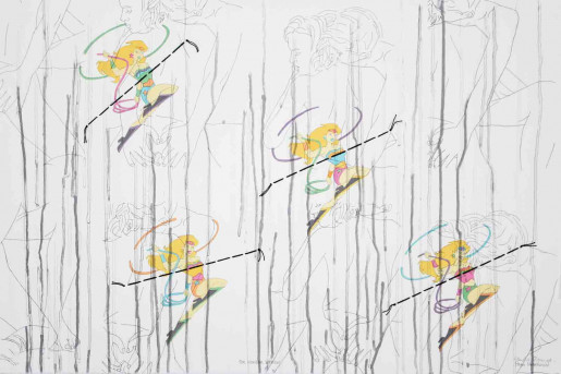 Ghada Amer and Reza Farkhondeh, For Wonder Women, 2006