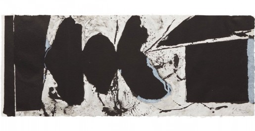 Robert Motherwell, Elegy Black Black, 1983