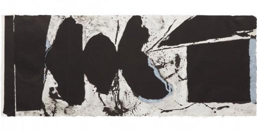 Robert Motherwell, Elegy Black Black, 1983