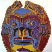 "Northwest Coast Mask (FS II.380), from the Portfolio ""Cowboys and Indians"""