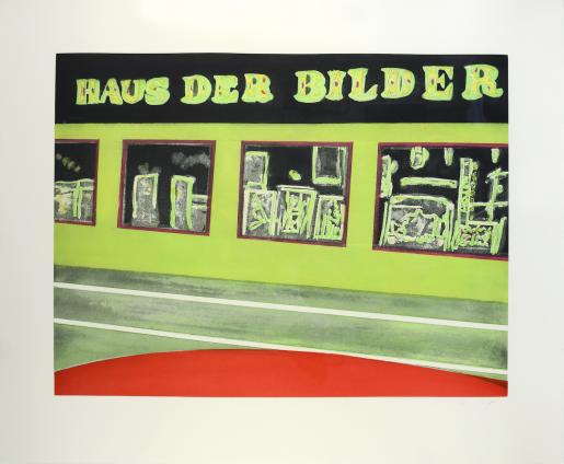 Peter Doig, Haus der Bilder, 2000