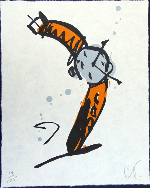 Claes Oldenburg, Wrist Watch Rising, 1991
