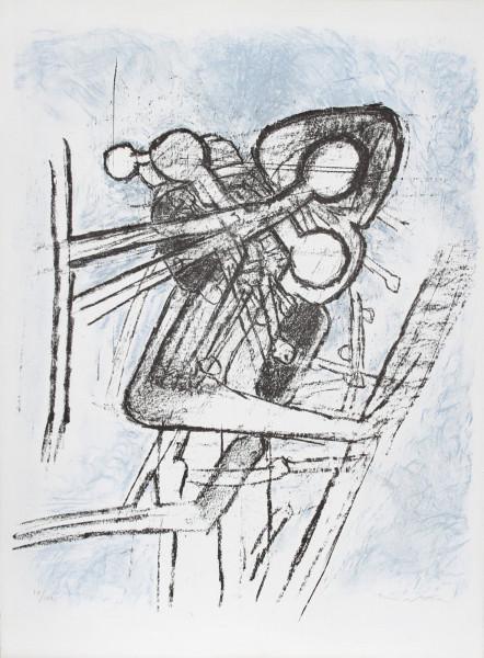 Roberto Matta, Onze Formes du Doute, 1959