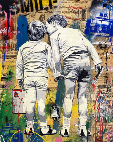 Mr. Brainwash, Brother's Advice, 2019
