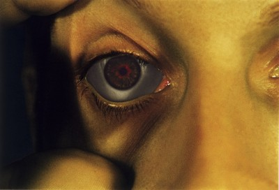 Bruce Nauman - Opened Eye from Infrared Outtakes