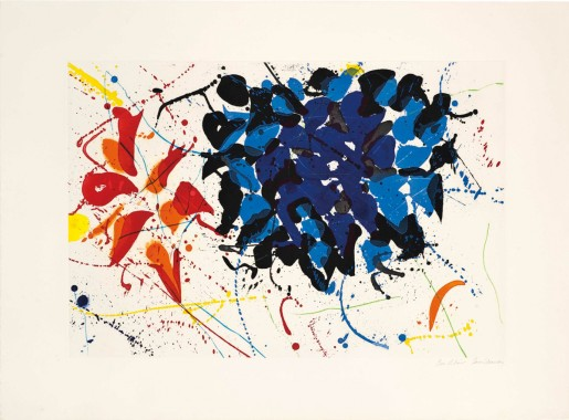 Sam Francis, Untitled Blue, 1991