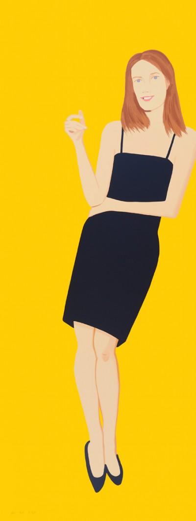 Black Dress - Sharon by Alex Katz