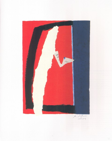 Robert Motherwell, Game of Chance, 1987
