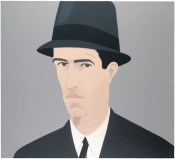 Alex Katz, Self-Portrait (Passing)