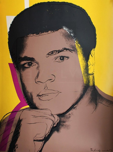 Andy Warhol, Muhammad Ali (FS II.182), 1978