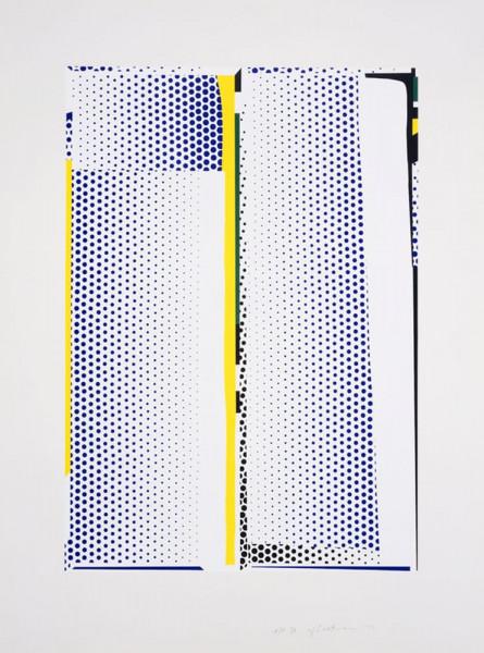 Roy Lichtenstein, Mirror #9, 1972